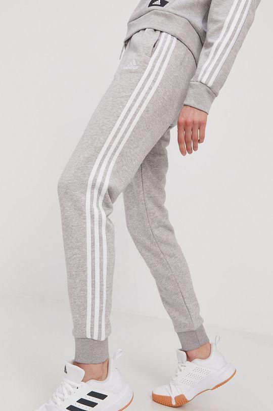 szary adidas - Spodnie Damski
