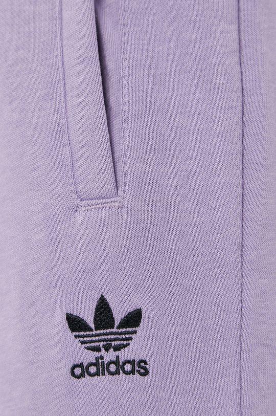 winogronowy adidas Originals - Spodnie