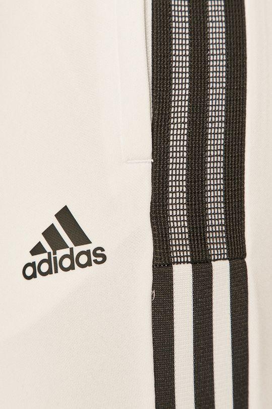 biały adidas Performance - Spodnie