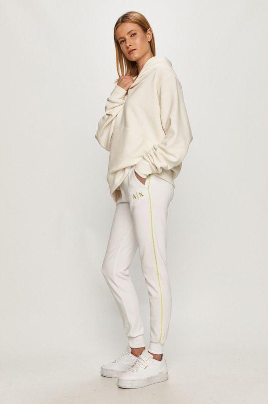 Armani Exchange - Nohavice biela