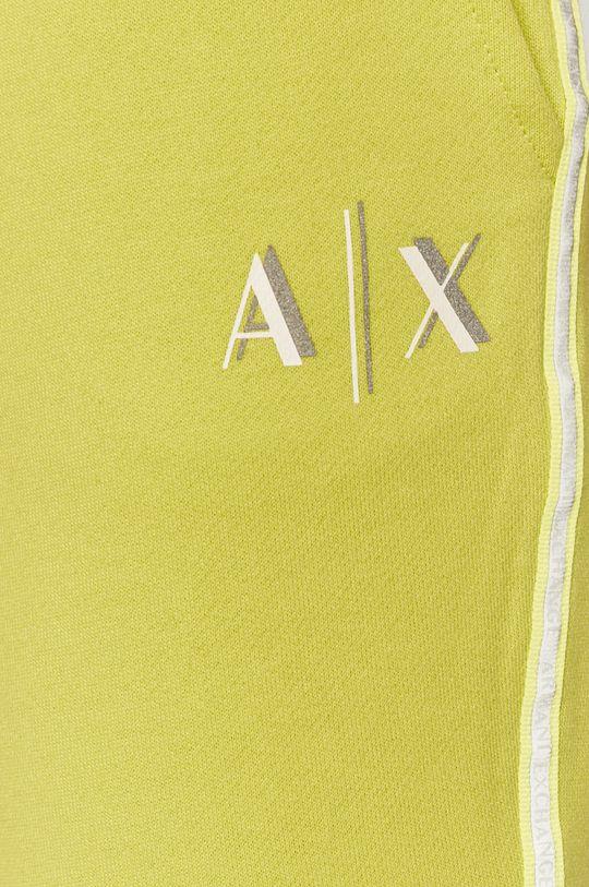 zelená Armani Exchange - Kalhoty