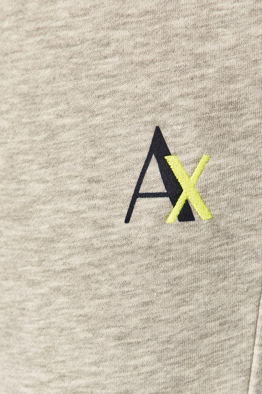 jasny szary Armani Exchange - Spodnie