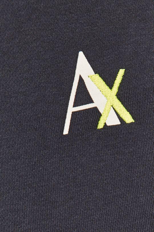 granatowy Armani Exchange - Spodnie