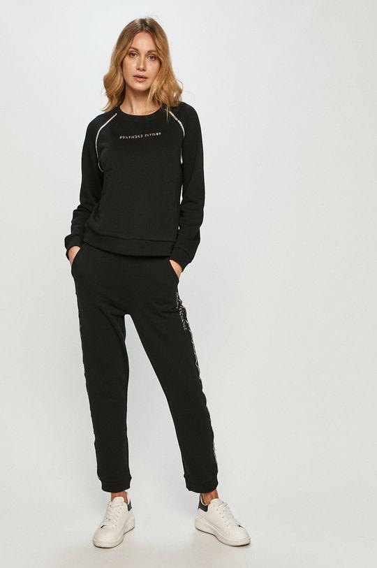Armani Exchange - Kalhoty černá