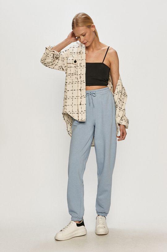 Only - Spodnie jasny niebieski