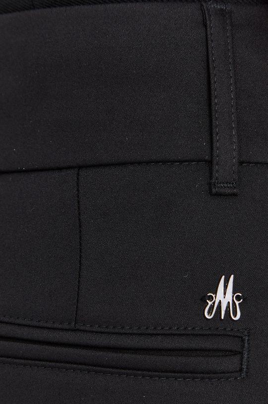czarny Mos Mosh - Spodnie