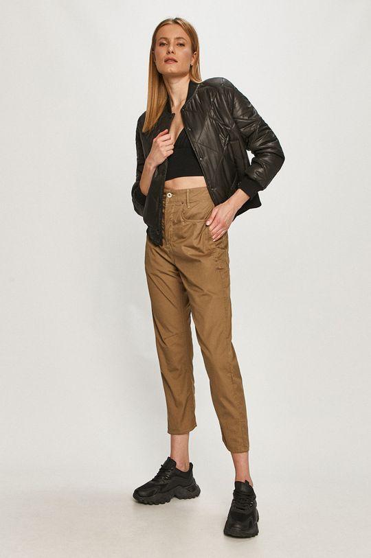 G-Star Raw - Spodnie jasny oliwkowy