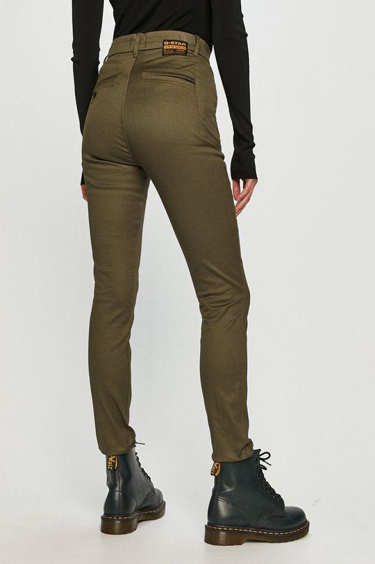 G-Star Raw - Pantaloni  Materialul de baza: 97% Bumbac, 3% Elastan Captuseala buzunarului: 50% Poliester , 50% Bumbac organic