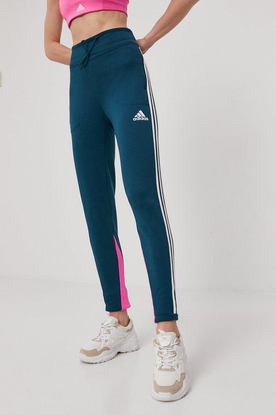 adidas Performance - Pantaloni verde inchis
