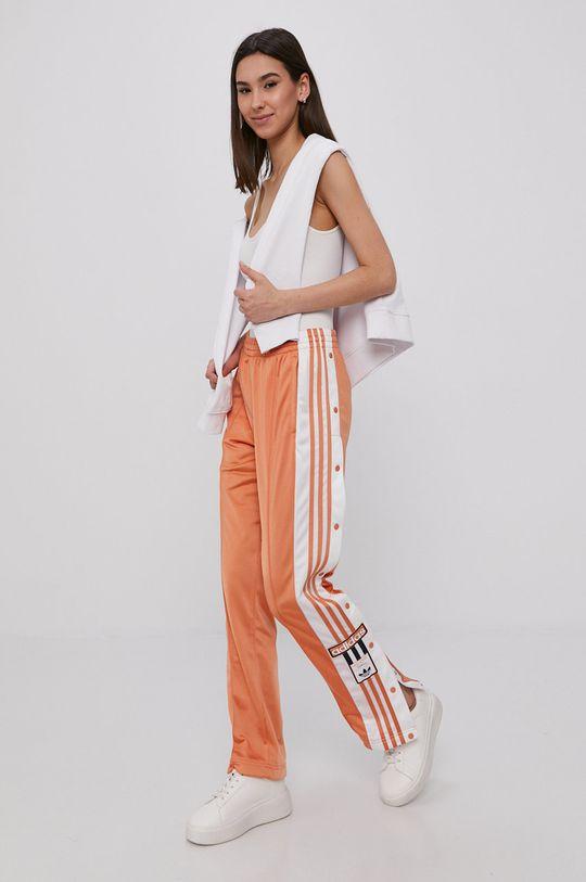adidas Originals - Spodnie pomarańczowy