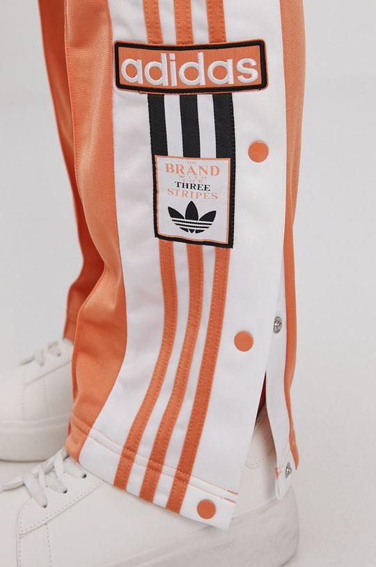pomarańczowy adidas Originals - Spodnie