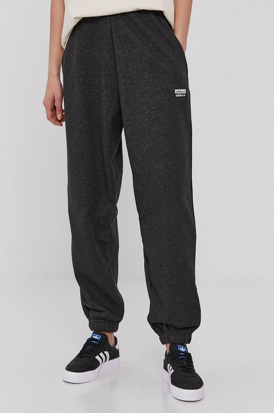 šedá adidas Originals - Kalhoty Dámský