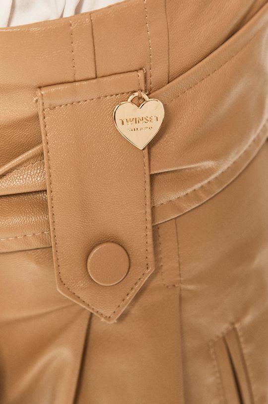 piaskowy Twinset - Spodnie