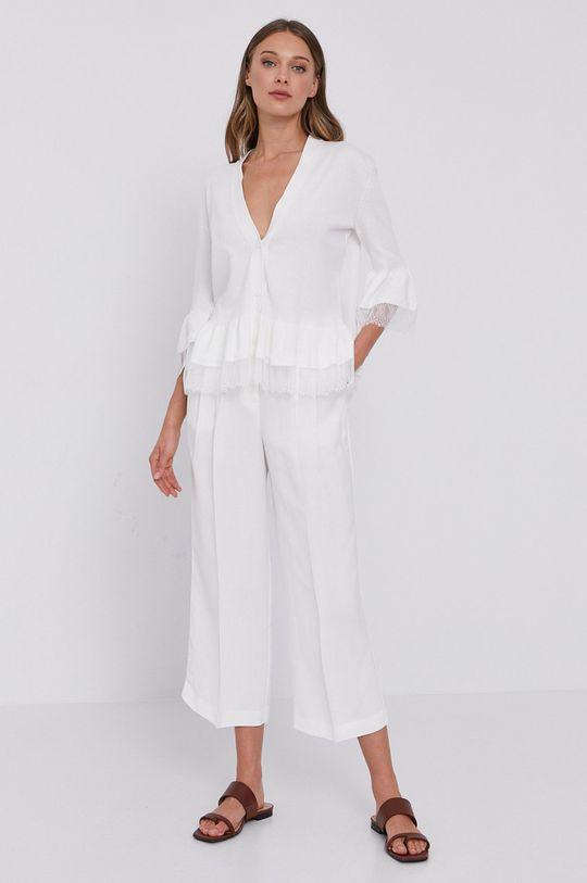 Twinset - Spodnie biały