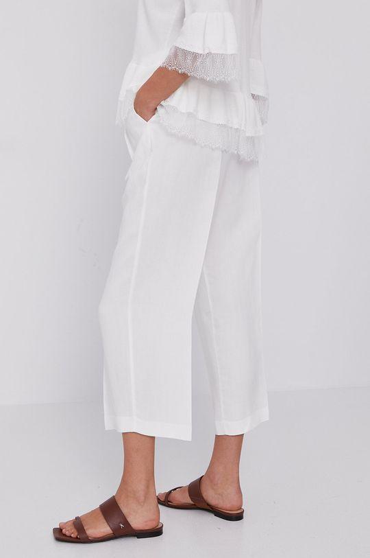 Twinset - Spodnie 27 % Len, 73 % Wiskoza
