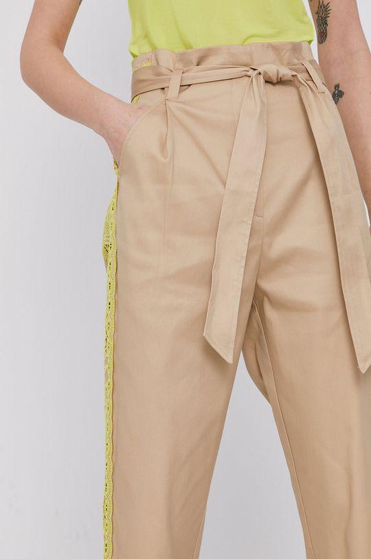 beżowy Twinset - Spodnie
