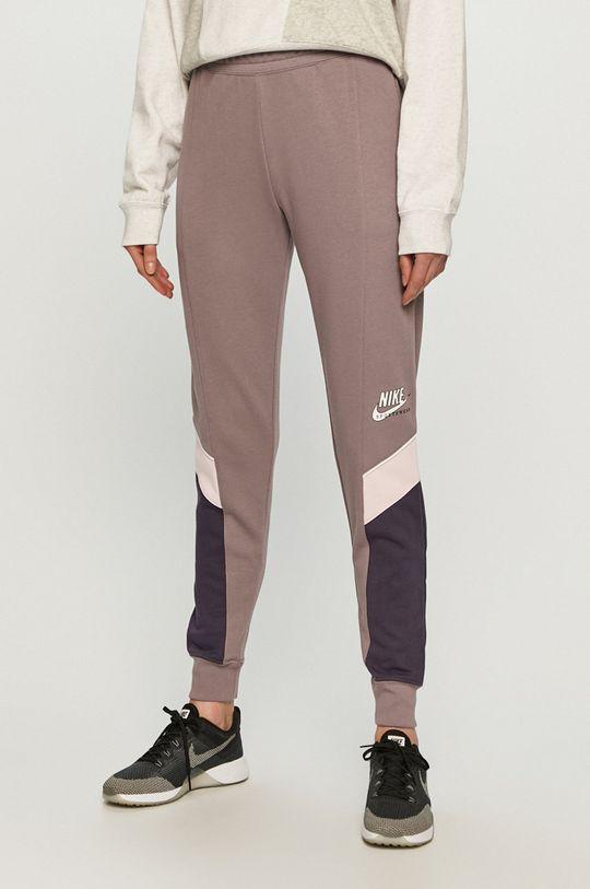 winogronowy Nike Sportswear - Spodnie Damski