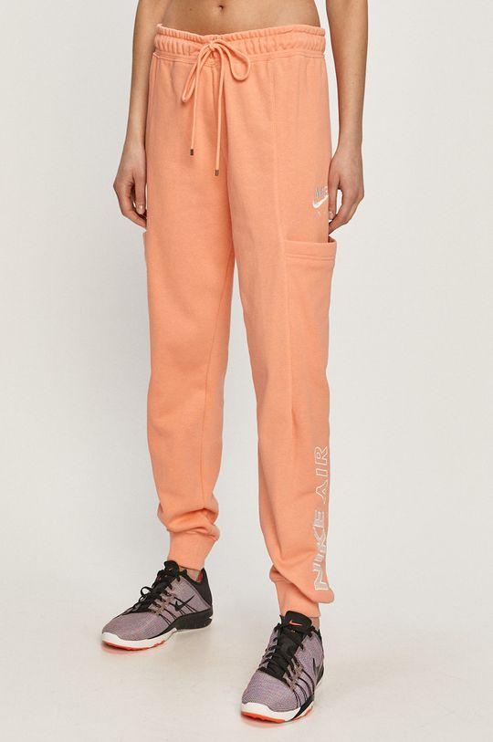 pastelová Nike Sportswear - Kalhoty Dámský