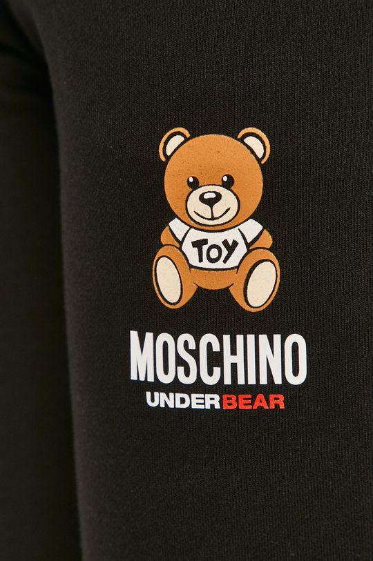 czarny Moschino Underwear - Spodnie