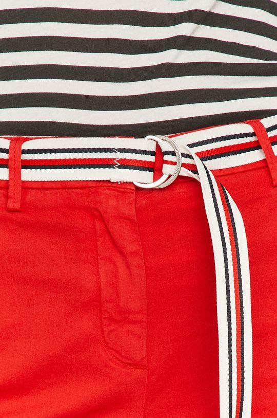 czerwony Tommy Hilfiger - Spodnie