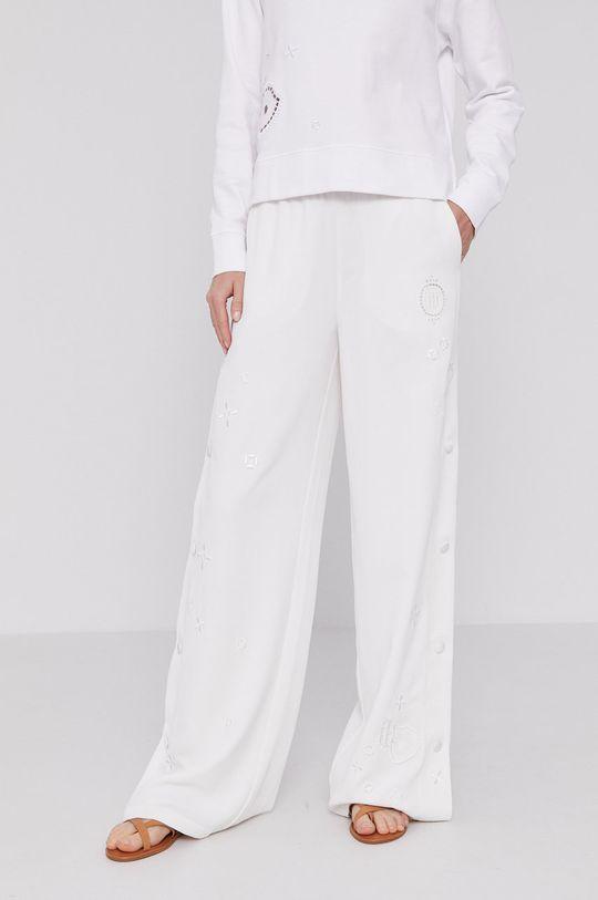 biały Tommy Hilfiger - Spodnie Damski
