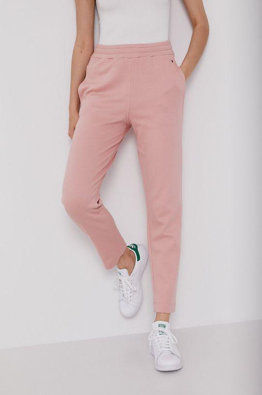 różowy Tommy Hilfiger - Spodnie Damski