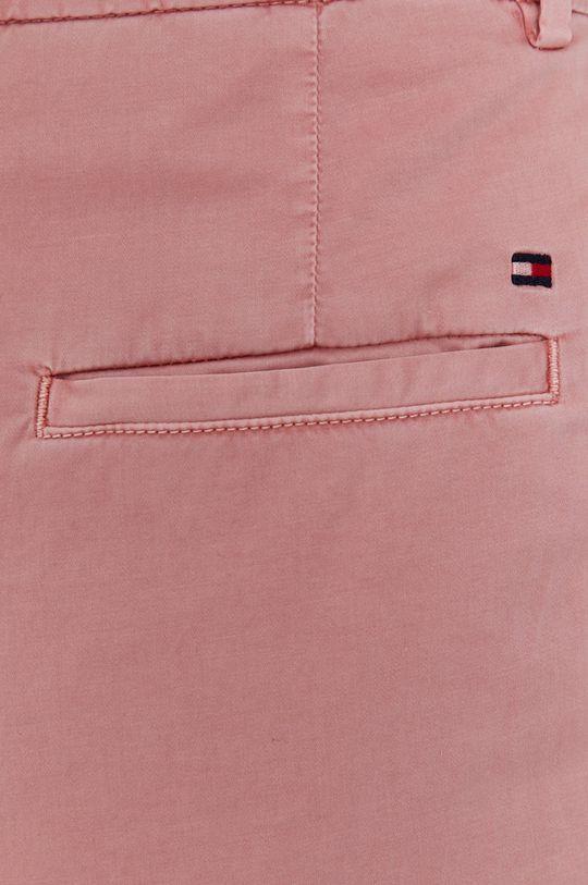 różowy Tommy Hilfiger - Spodnie