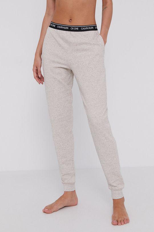 beżowy Calvin Klein Underwear - Spodnie piżamowe CK One Damski