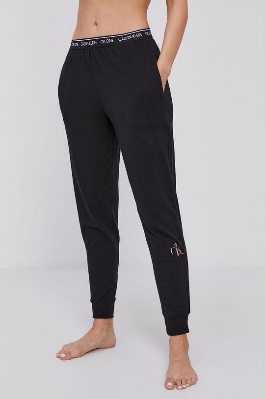 czarny Calvin Klein Underwear - Spodnie piżamowe Ck One Damski
