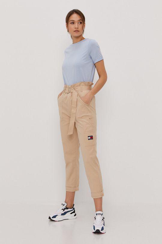 Tommy Jeans - Kalhoty béžová