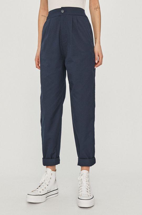 granatowy Tommy Jeans - Spodnie Damski