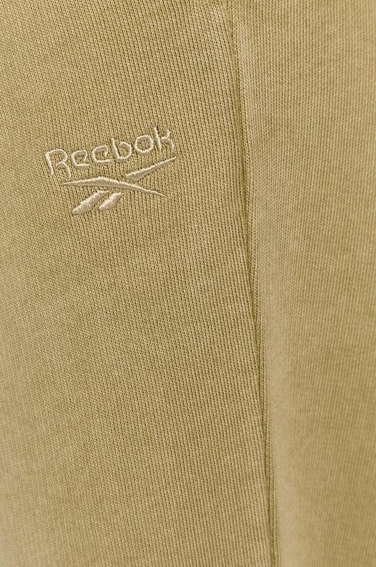 brudny zielony Reebok Classic - Spodnie