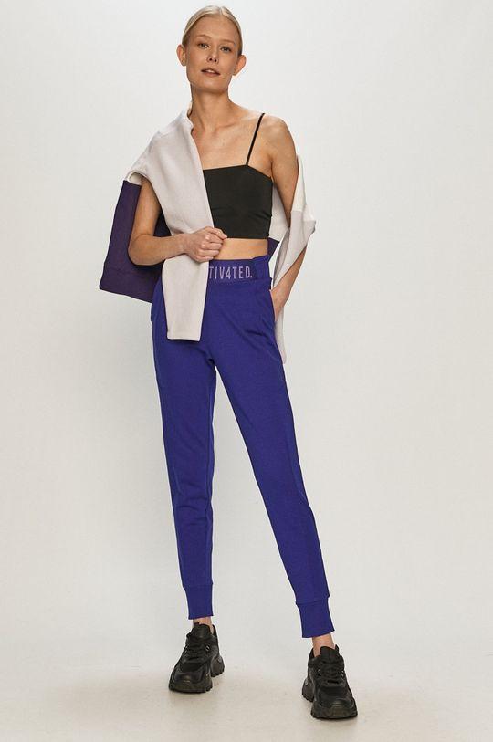 4F - Kalhoty fialová