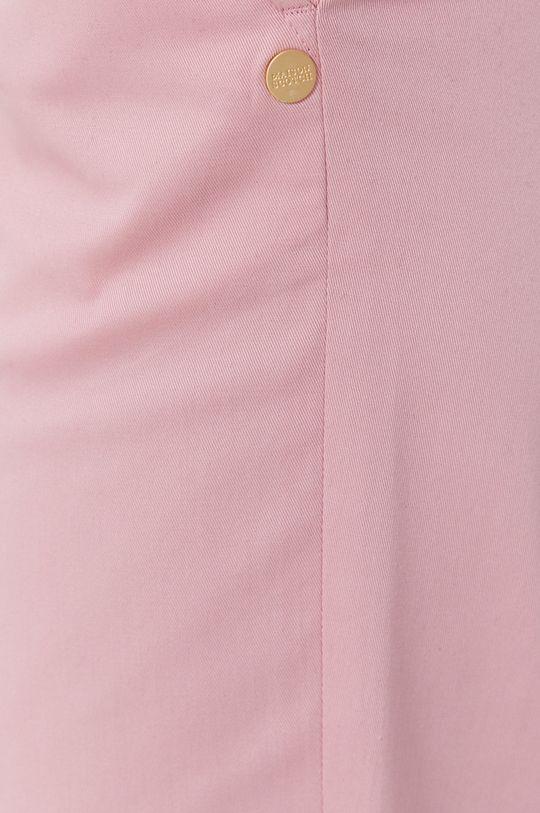 różowy Scotch & Soda - Spodnie