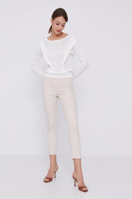 Morgan - Spodnie kremowy