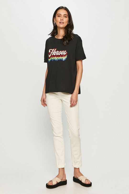 Trussardi Jeans - Nohavice biela