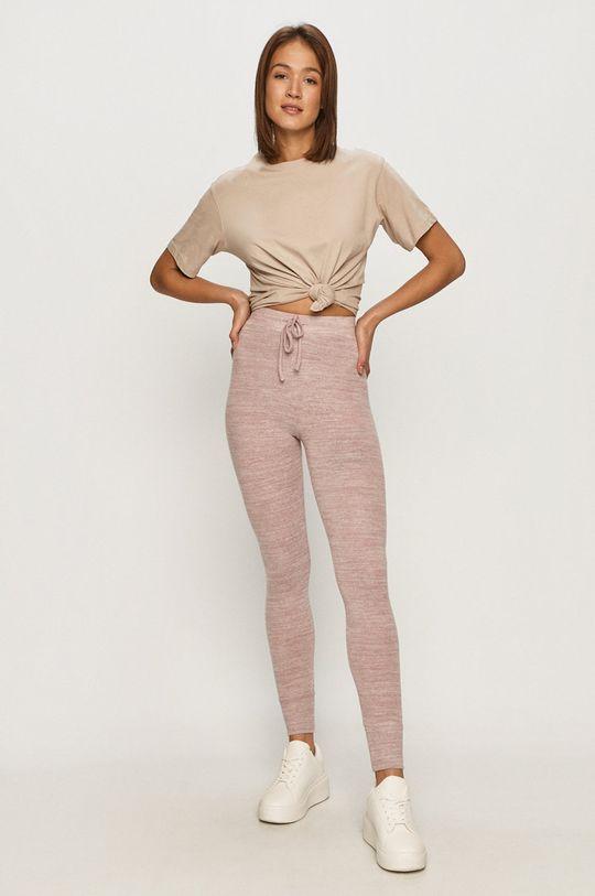 Tally Weijl - Spodnie różowy