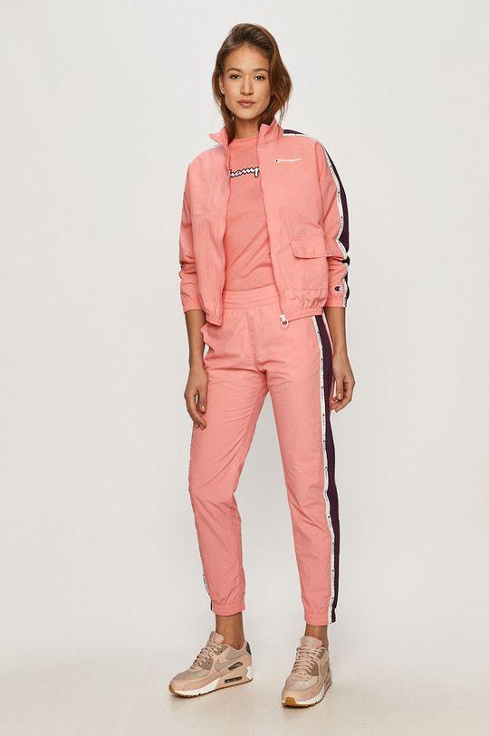 Champion - Spodnie ostry różowy