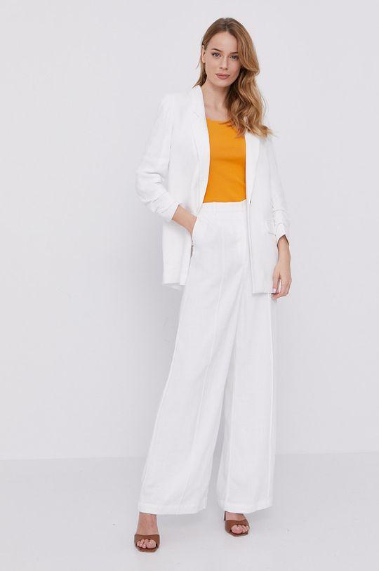 biały Bardot - Spodnie