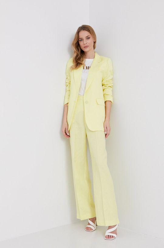 Bardot - Spodnie żółty