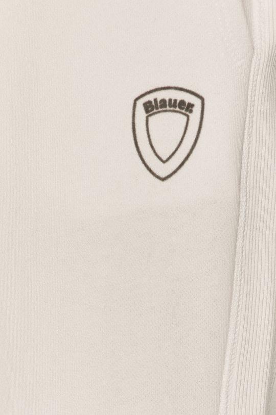 biały Blauer - Spodnie