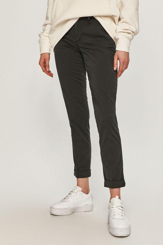 černá Blauer - Kalhoty Dámský