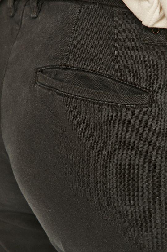 černá Blauer - Kalhoty