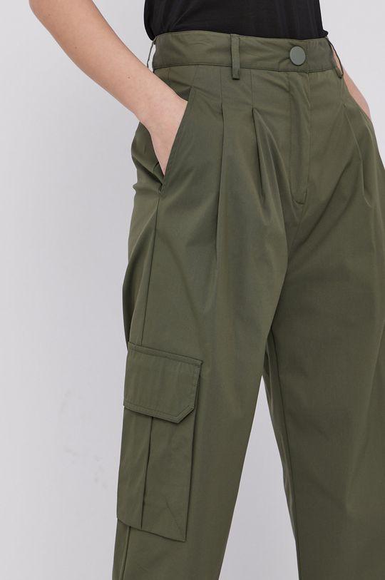 oliwkowy Liviana Conti - Spodnie