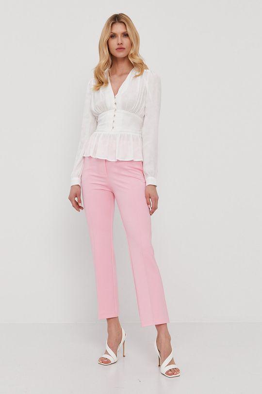 Pinko - Spodnie czerwony róż