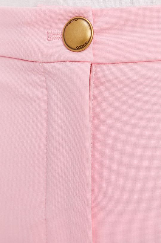 czerwony róż Pinko - Spodnie