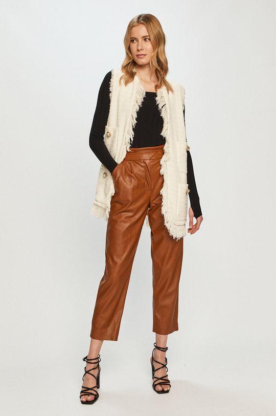 Pinko - Spodnie brązowy