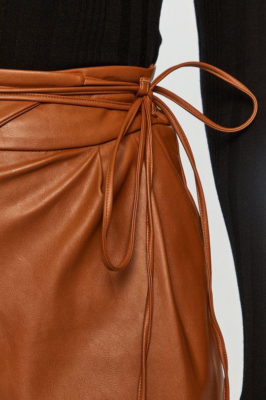 brązowy Pinko - Spodnie