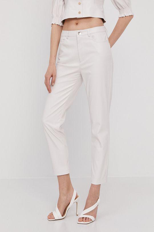 biały Pinko - Spodnie Damski