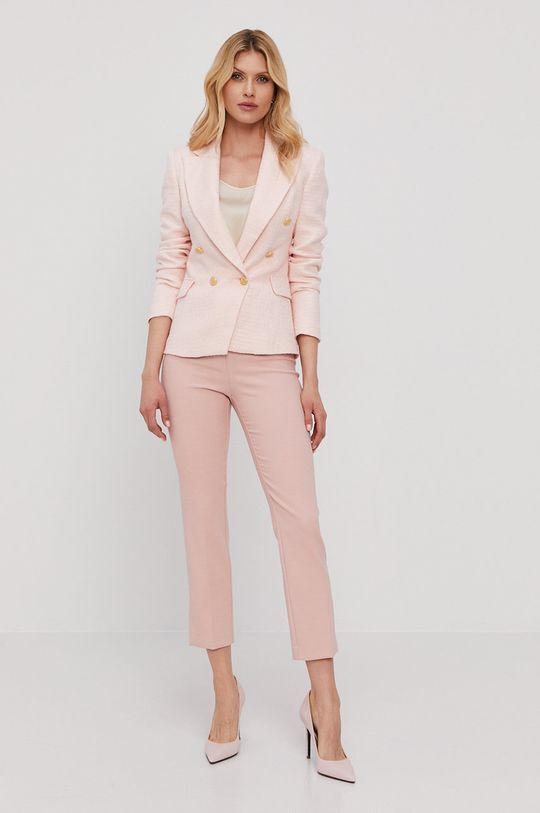 Pinko - Spodnie różowy